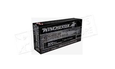 Winchester 300 Blackout Super Suppressed, 200 Grain Box of 20 #SUP300BLK?>