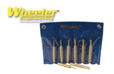 Wheeler 8-Piece Brass Punch Set #780194?>