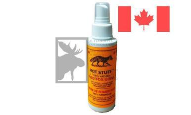 Huntmaster Hot Stuff Red Fox Urine Cover Scent, Natural 100ml Spray Bottle?>