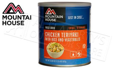 Mountain House Can - Chicken Teriyaki with Rice and Vegetables, 10 Servings, 1.25lbs #30124?>