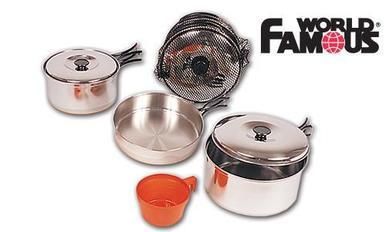 World Famous Stainless Cook Set #730A?>