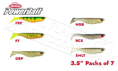 "Berkley PowerBait Ripple Shad, Various Patterns, 3.5"" Pack of 7 #PBBRS3.5?>"