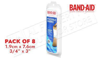 Band-Aid Flex Fabric 8 Pack Bandages #47544?>