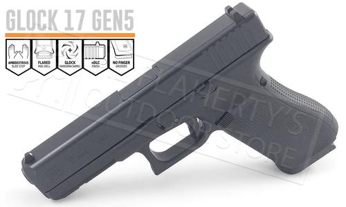 Glock 17 Gen 5 with Fixed Sights 9mm?>