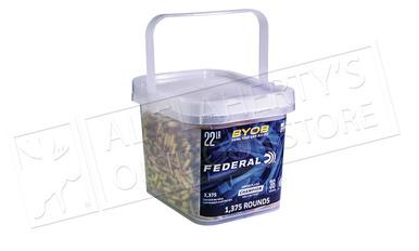Federal Ammunition Bring Your Own Bucket Rimfire Ammo 22 LR, Copper Plated HP, 36 Gr, 1375 Rnd Bucket #750BKT1375?>