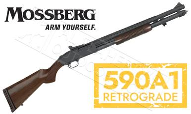 "Mossberg 590A1 Retrograde Shotgun - 12 Gauge 20"" Barrel 9-Shot  #51665?>"