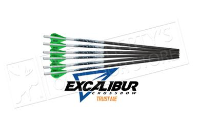"Excalibur Proflight Arrows 16.5"" For use with all Micro Crossbows - Quill Length, Pack of 6 #22EXP16-6?>"