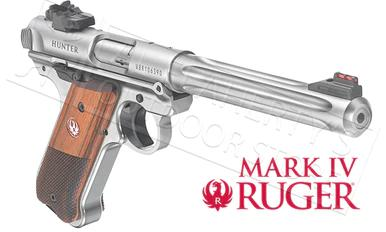 "Ruger MK IV Hunter Pistol, 22LR 6.88"" Fluted Barrel #40118?>"