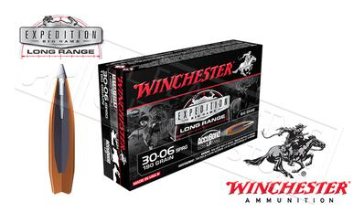Winchester 30-06 SPRG AccuBond Expedition LR, Polymer Tipped Boat-Tail 190 Grain Box of 20 #S3006LR?>