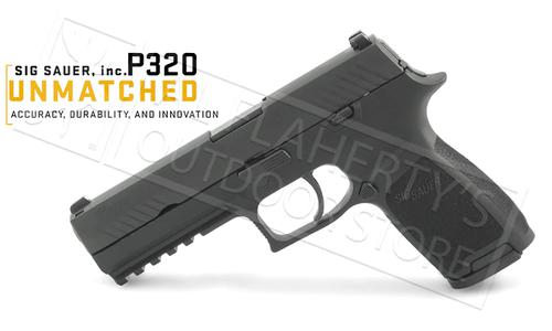 SIG Sauer Handgun P320 with Contrast Sights 9mm #320F-9-B-10?>