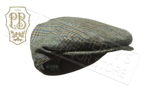 Beretta St James Cap in Green Check, Sizes M-2XL #BC040T07640796?>