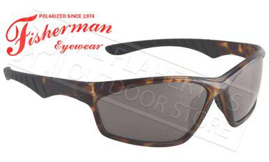 Fisherman Eyewear Polarsensor Delta Polarized Sunglasses, Crystal Brown Tortoise with Grey Lens #96100734?>