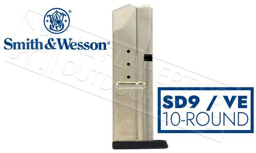 Smith & Wesson Magazine S&W SD9VE 9mm Steel #397440000?>