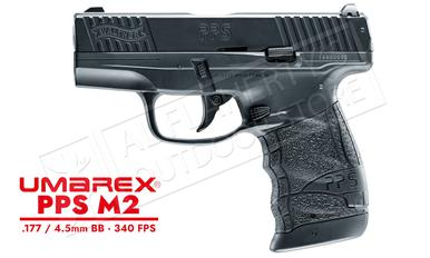 Umarex Walther PPS M2 .177 CO2 Steel BB Pistol Black 350 FPS #2252412?>