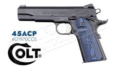 Colt 1911 Competition Government Frame Pistol, 45ACP Blued Finish #o1970CCS?>