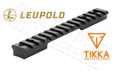 Leupold BackCountry Cross-Slot Base for Tikka T3/T3X 1-Piece #171348?>