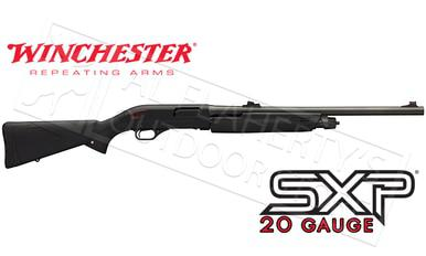 "Winchester SXP Black Shadow Deer 20 Gauge, 3"" Chamber 22"" Barrel, Rifled with Sights #512261640?>"