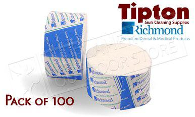 Tipton Action Cleaning Swabs by Richmond Dental, Pack of 100 #115373?>