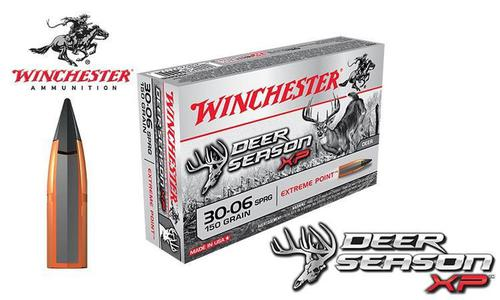 Winchester 30-06 Springfield Deer Season XP, Polymer Tipped 150 Grain Box of 20 #X3006DS?>