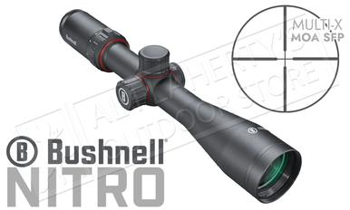 Bushnell Nitro Riflescope 4-16x44mm with Multi-X MOA SFP Reticle #RN4164BS3?>