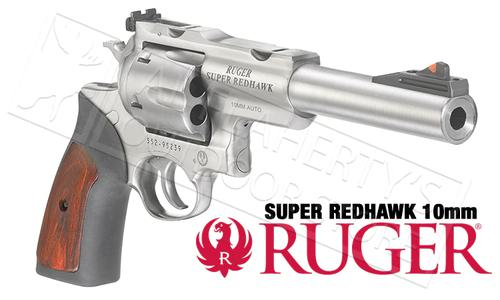 "Ruger Super Redhawk Revolver 10mm with 6.5"" Barrel #5524?>"