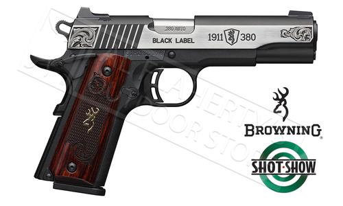 Browning Handgun Black Label 1911-380 Medallion Engraved #051956492?>