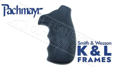 Pachmayr Diamond Pro Series Revolver Grips for Smith & Wesson K & L Round Butt Frames #02479?>