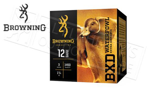 "Browning Ammo BXD Waterfowl Steel Shot Shells 12 Gauge 3"" 1-1/4 oz Box of 25 #B19341123?>"