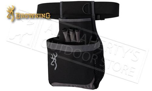 Browning Flash Shell Pouch, Black/Gray #121062692?>
