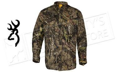 Browning Wasatch Shirt,Button up Long Sleeve Mossy Oak Break-Up Various Sizes #301780280?>