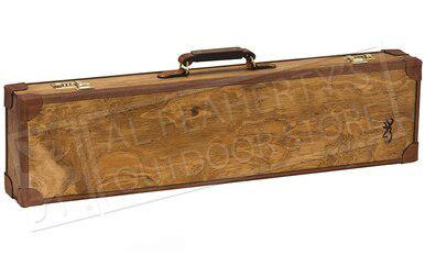 Browning Madera Fitted Case for Over-Under Shotguns Light Brown?>
