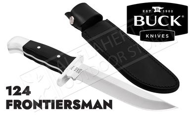 Buck Knives 124 Frontiersman Fixed Blade #0124BKSLE-B?>