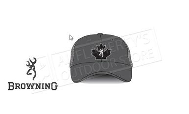 Browning Trucker Cap Maple Leaf, Charcoal #308845791?>