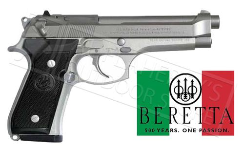 Beretta Handgun 92FS Inox 9mm - Made in Italy #J92F500?>