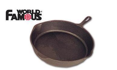 "World Famous Cast Base Camp Skillet, 14.5"" #1349?>"