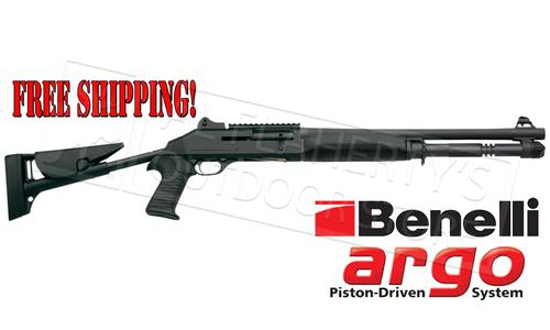 "Benelli M4 Tactical Shotgun with 18.5"" Barrel & Telescoping Stock #11707?>"