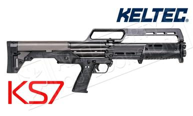 "Kel-Tec KS7 Pump Action Shotgun 12 Gauge 18.5"" Barrel 3"" Matte Black Finish?>"