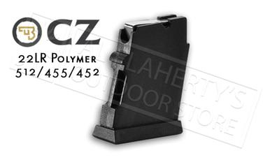 CZ 455 or 512 Magazine, .22LR 5-Round Polymer #5133-1000-02ND?>