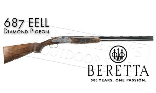 "Beretta Shotgun 687 EELL Diamond Pigeon Over-Under Field with Floral Engraving 12 or 20 Gauge with 28"" Barrels?>"