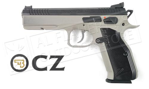 CZ Shadow 2 Steel-Frame Urban Grey Two-Tone 9mm Pistol?>