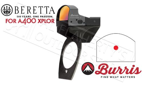 Burris SpeedBead Reflex Sight System for Beretta A400 Xplor Series, Mount + FastFire Reflex Sight #300253?>