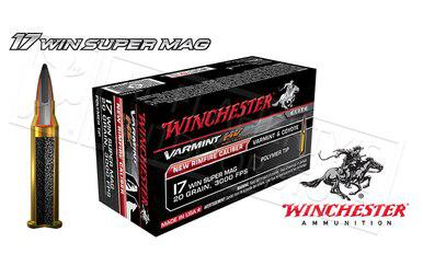 Winchester 17WSM Varmint HV, 20 Grain Box of 50 #S17W20?>