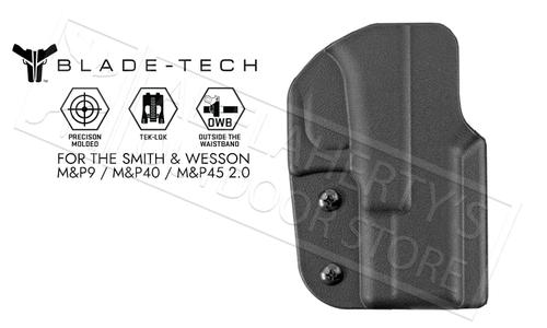 Blade-Tech Signature OWB Holster For Smith & Wesson MP9 MP40 and MP45 2.0 Pistols #HOLX0008SMP92TLBLKRH?>