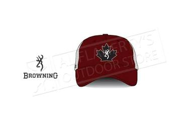 Browning Trucker Cap Maple Leaf, Red #308845811?>