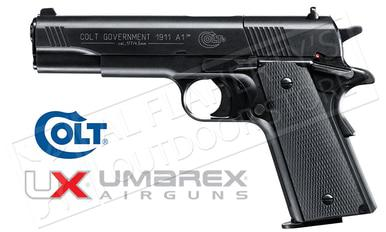 Umarex Air Pistol Colt Government 1911 A1 .177 Pellet Gun #2254000?>