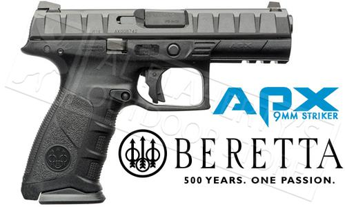Beretta Handgun APX Striker Fired 9mm With Backstraps?>