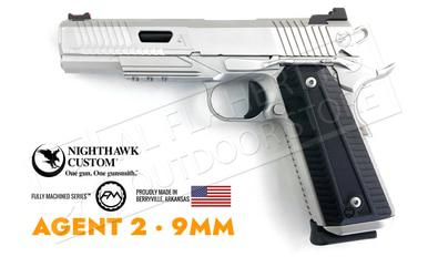 Nighthawk Custom 1911 AGENT II Stainless 9mm?>