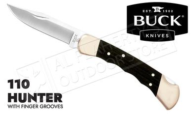 Buck Knives 110 Folding Hunter with Finger Grooves #0110BRSFG-B?>