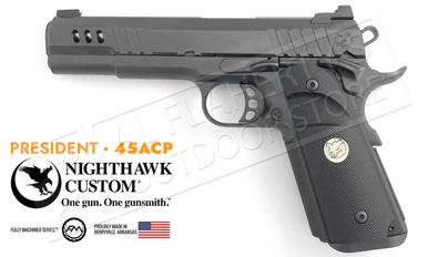 Nighthawk Custom 1911 President Black 45ACP?>