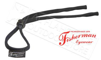 Fisherman Eyewear Soft Retaining Cord for Glasses, Black #90962?>